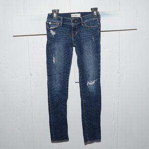 Abercrombie skinny girls jeans size 12